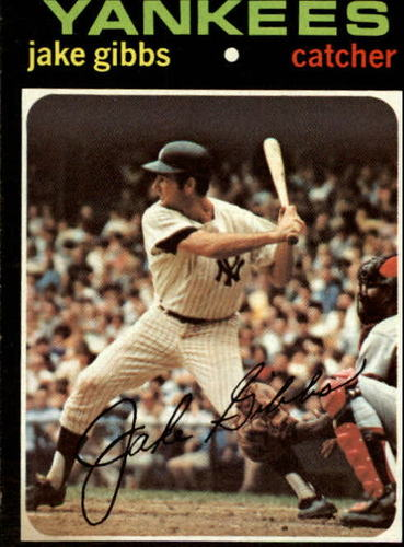 Photo of 1971 Topps #382 Jake Gibbs
