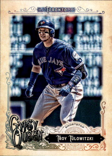 Photo of 2017 Topps Gypsy Queen #223 Troy Tulowitzki