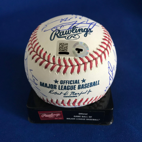 Photo of UMPS CARE AUCTION: New York Mets Team Signed Baseball