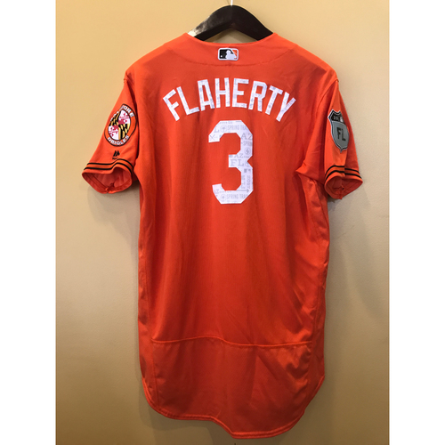 Photo of Ryan Flaherty - 2017 Spring Training Jersey: Game-Used