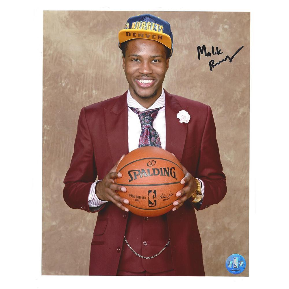 Malik Beasley - Denver Nuggets - 2016 NBA Draft - Autographed Photo