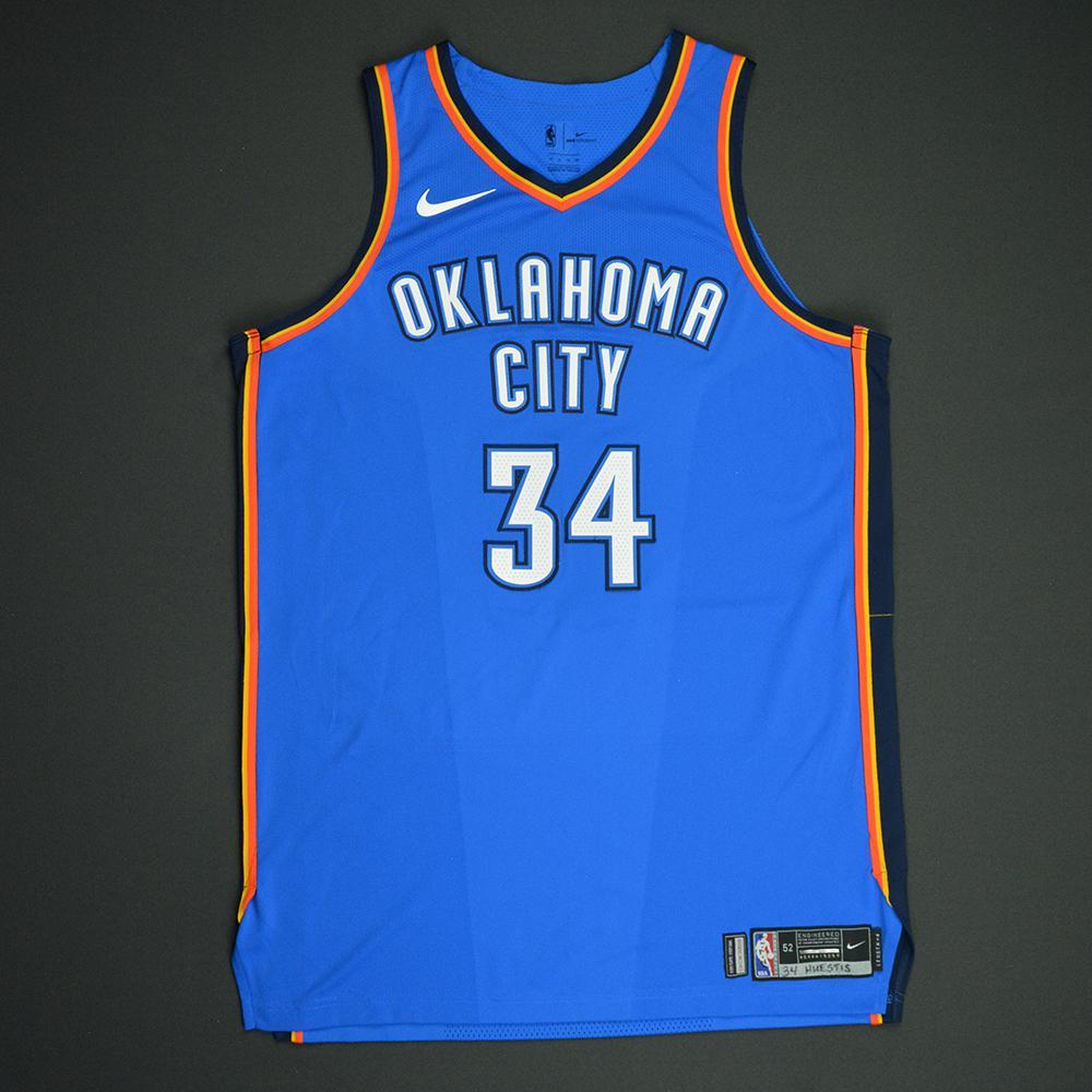 Josh Huestis - Oklahoma City Thunder - NBA Mexico City Games 2017 Game-Worn Jersey - Dressed, Did Not Play