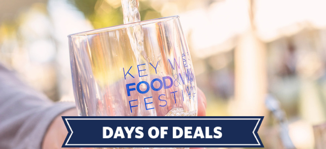 KEY WEST FOOD & WINE FESTIVAL - PACKAGE 2 of 3