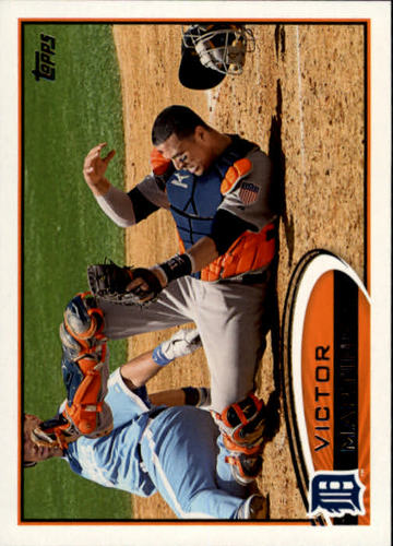 Photo of 2012 Topps #461 Victor Martinez