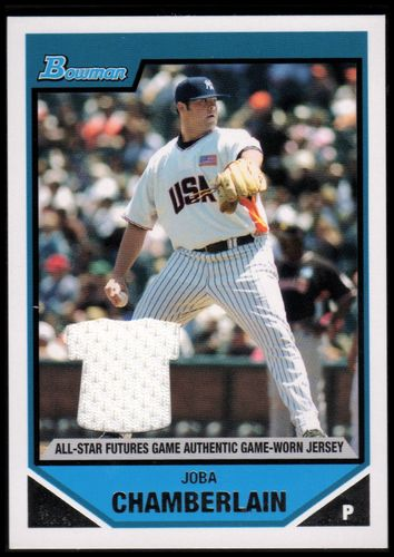 Photo of 2007 Bowman Draft Future's Game Prospects Jerseys #BDPP71 Joba Chamberlain
