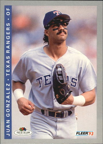 Photo of 1993 Fleer Fruit of the Loom #22 Juan Gonzalez