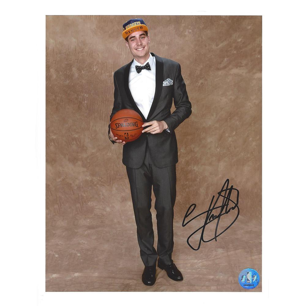 Juan Hernangomez - Denver Nuggets - 2016 NBA Draft - Autographed Photo