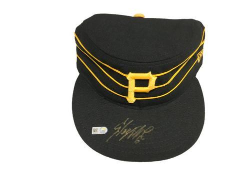 Photo of Starling Marte Autographed Hat