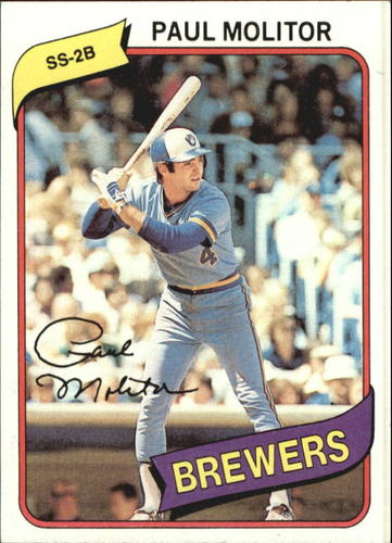 Photo of 1980 Topps #406 Paul Molitor
