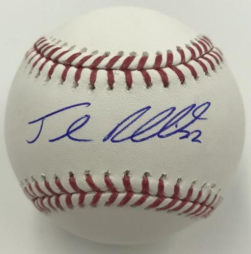 Photo of Josh Reddick Autographed Baseball