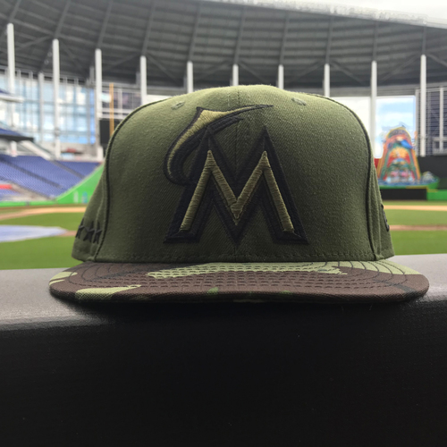 Photo of Don Mattingly Game-Used Memorial Day Hat - Size 7 3/8