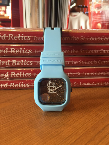 Photo of Busch Stadium Dirt Watch - Baby Blue