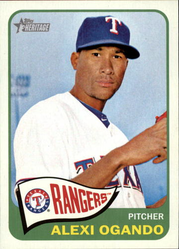 Photo of 2014 Topps Heritage #56 Alexi Ogando