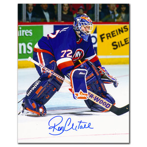 Ron Hextall New York Islanders Autographed 8x10