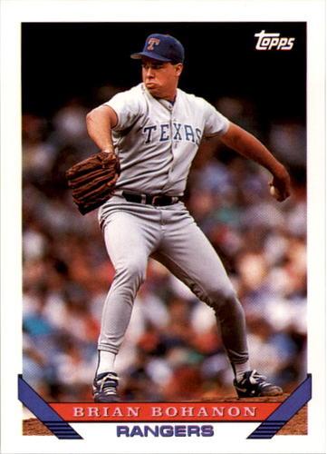 Photo of 1993 Topps #638 Brian Bohanon