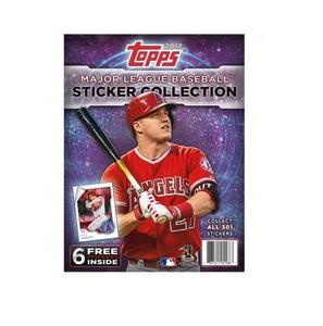 2017 MLB Sticker Collection Album by Topps