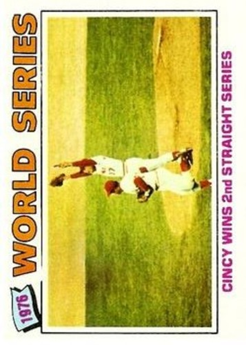 Photo of 1977 Topps #413 World Series/Cincy Wins