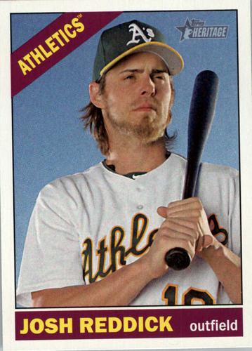 Photo of 2015 Topps Heritage #114 Josh Reddick -- Astros post-season