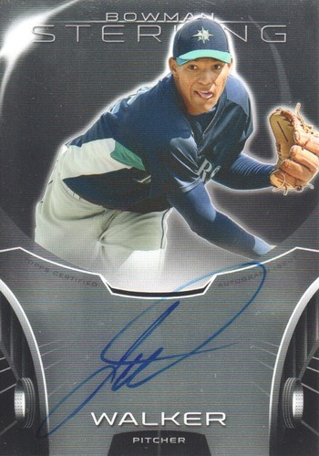 Photo of 2013 Bowman Sterling Prospect Autographs #TW Taijuan Walker -- D'backs post-season