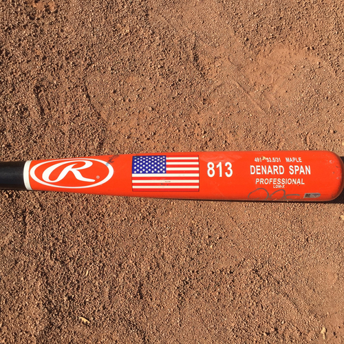 Photo of San Francisco Giants - Denard Span Autographed Bat