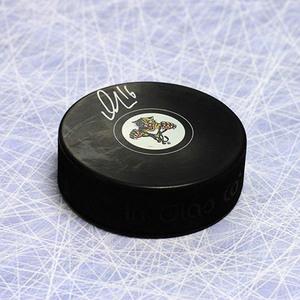 Aleksander Barkov Florida Panthers Autographed Hockey Puck
