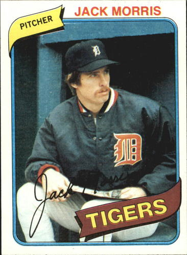 Photo of 1980 Topps #371 Jack Morris
