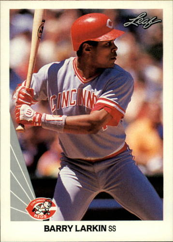 Photo of 1990 Leaf #18 Barry Larkin