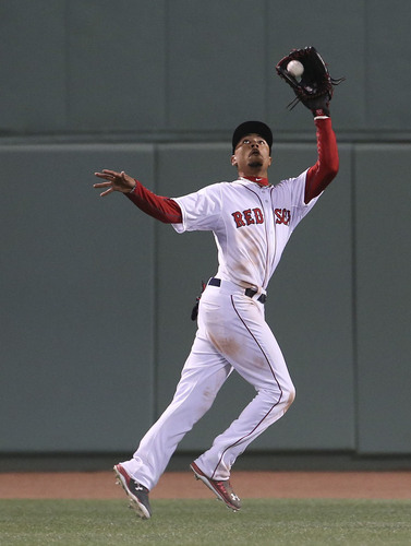 Photo of Red Sox Foundation Picnic In the Park Auction: Mookie Betts: Fielding Dreams
