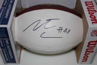 NFL - DOLPHINS LEONTE CARROO SIGNED PANEL BALL