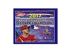 2017 MLB Sticker Collection by Topps