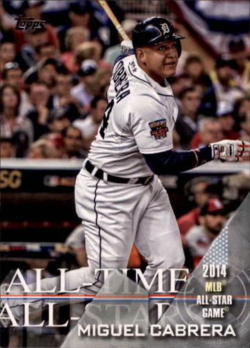 Photo of 2017 Topps All Time All Stars #ATAS46 Miguel Cabrera