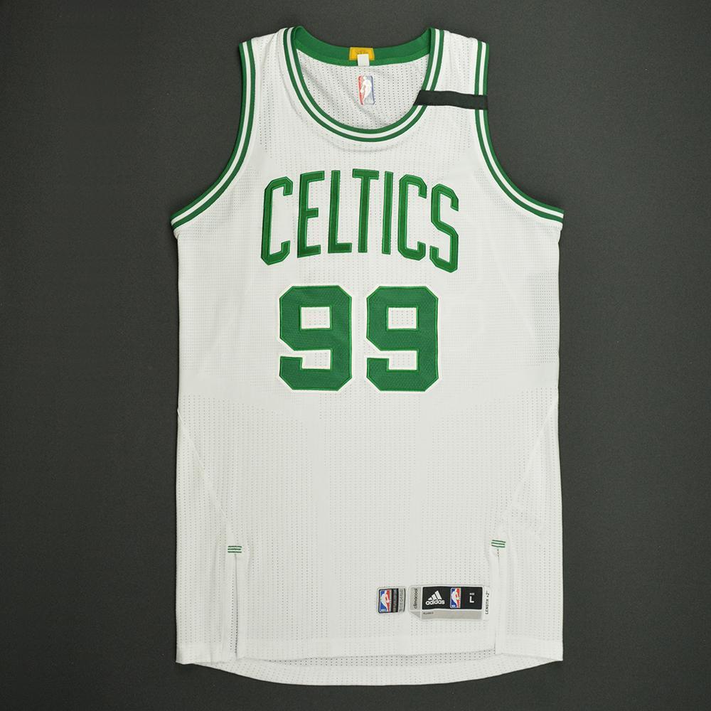 Jae Crowder - Boston Celtics - White Playoffs Game-Worn Jersey - 2016-17 Season