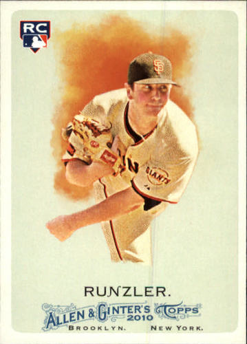 Photo of 2010 Topps Allen and Ginter #276 Daniel Runzler RC