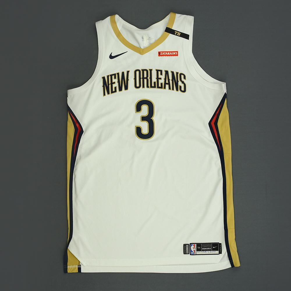 Nikola Mirotic - New Orleans Pelicans - Kia NBA Tip-Off 2018 - Game-Worn Association Edition Jersey - Double-Double - Scored 30 Points