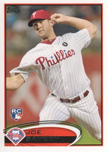 Photo of 2012 Topps #464 Joe Savery RC