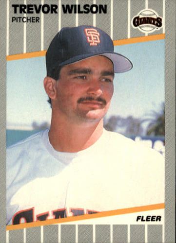 Photo of 1989 Fleer #347 Trevor Wilson RC