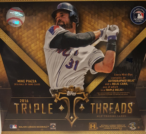 Photo of 2016 Topps Triple Threads Baseball Hobby Box