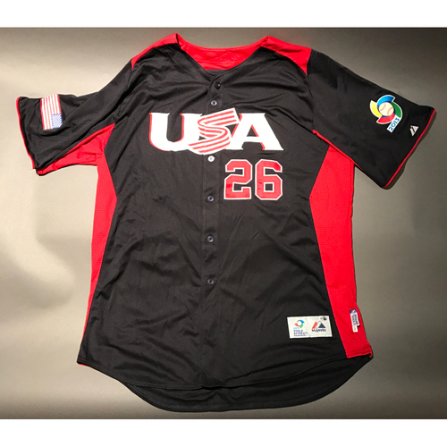 Photo of 2013 World Baseball Classic Jersey - USA Jersey, David Hernandez #26