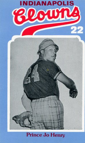 Photo of 1976 Laughlin Indianapolis Clowns #22 Prince Jo Henry