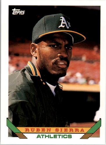 Photo of 1993 Topps #440 Ruben Sierra