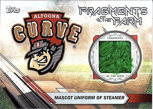 Photo of 2017 Topps Pro Debut Fragments of The Farm Relics #FOTFAC Steamer MASCOT Uniform