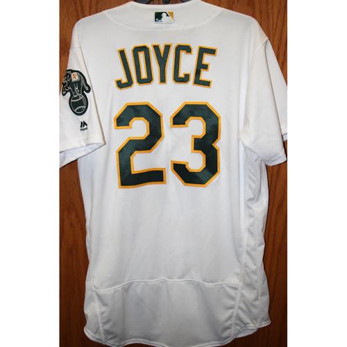 "Photo of Matt Joyce Game-Used ""Atleticos"" Jersey"