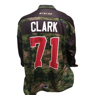 #71 Kody Clark Game Worn Army Theme Jersey