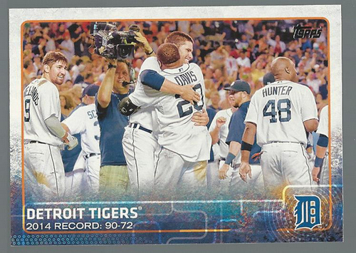 Photo of 2015 Topps #126 Detroit Tigers