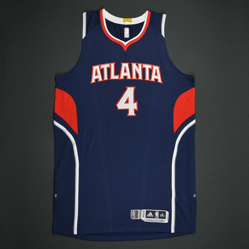 Paul Millsap - Atlanta Hawks - Game-Worn Regular Season Jersey - 2014-15 Season