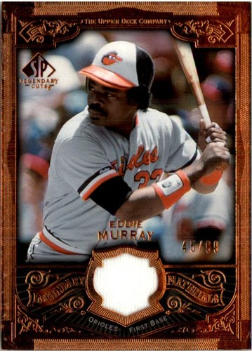 Photo of 2006 SP Legendary Cuts Legendary Materials Bronze #EM Eddie Murray Jsy/99