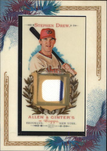 Photo of 2007 Topps Allen and Ginter Relics #SD Stephen Drew J