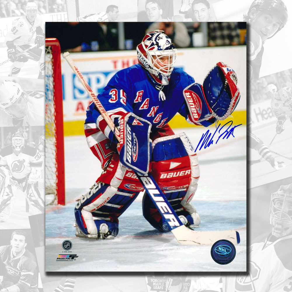 Mike Richter New York Rangers Autographed 8x10