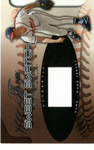 Photo of 2002 Flair Sweet Swatch #11 Greg Maddux/475