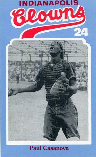 Photo of 1976 Laughlin Indianapolis Clowns #24 Paul Casanova